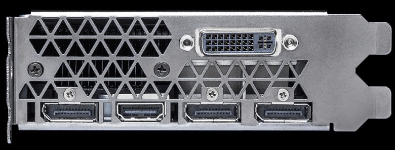Видеовыходы GeForce GTX TITAN X (фото: Nvidia).