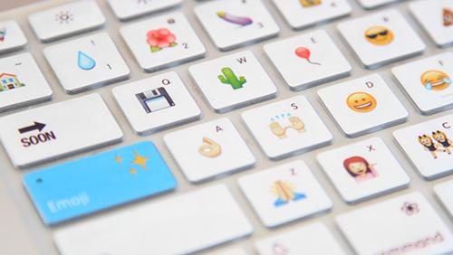На Kickstarter выставлен проект клавиатуры для ввода эмоджи.