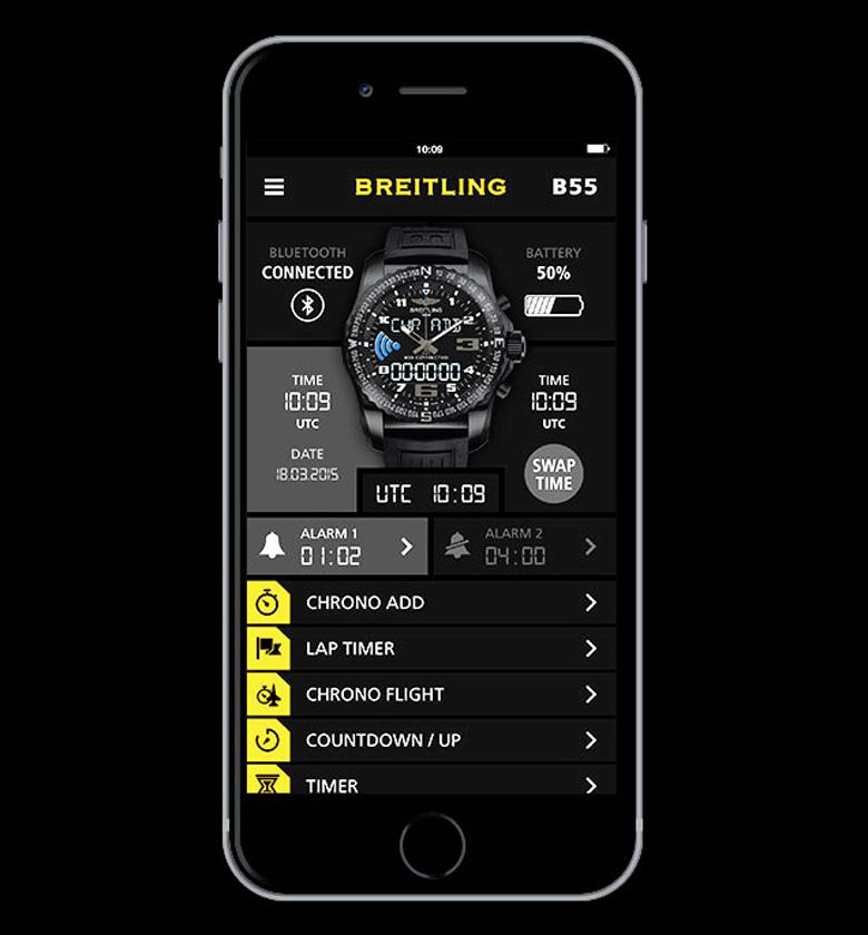 Breitling выпускает слегка поумневшие часы