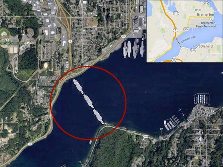 Вторая жизнь военных объектов: в США может появится мост из авианосцев