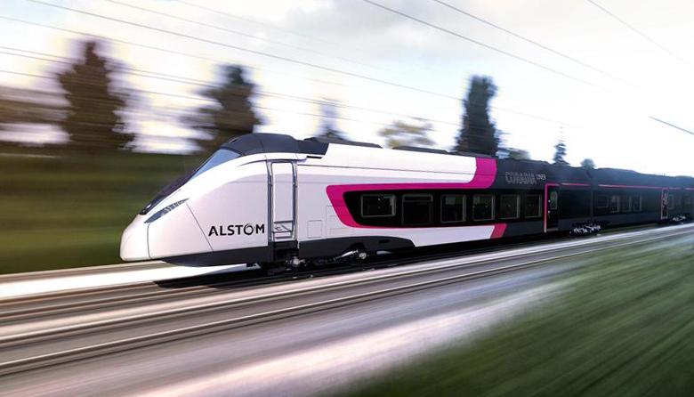 Поезд Alstom Transport серии TGV (фото: Justine Rohée).