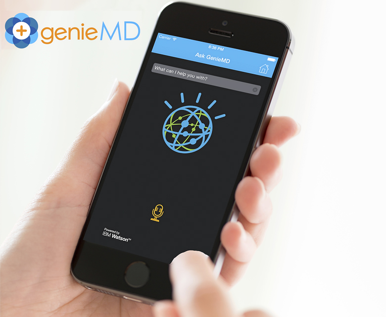 Мобильная платформа GenieMD для консультации пациентов (фото: IBM).