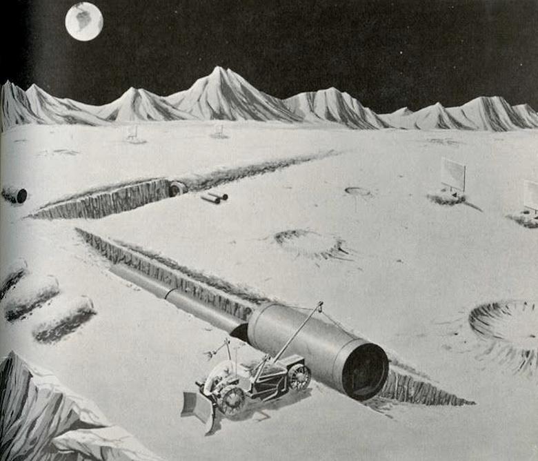 Переходы между помещениями базы (изображение: NASA).