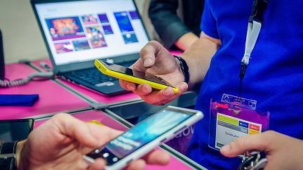 Россия занимает первое место на рынке смартфонов в регионе EMEA.