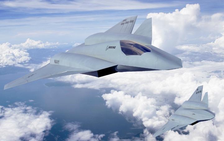 Так выглядит концепт ударного флотского беспилотника F/A-XX от Boeing