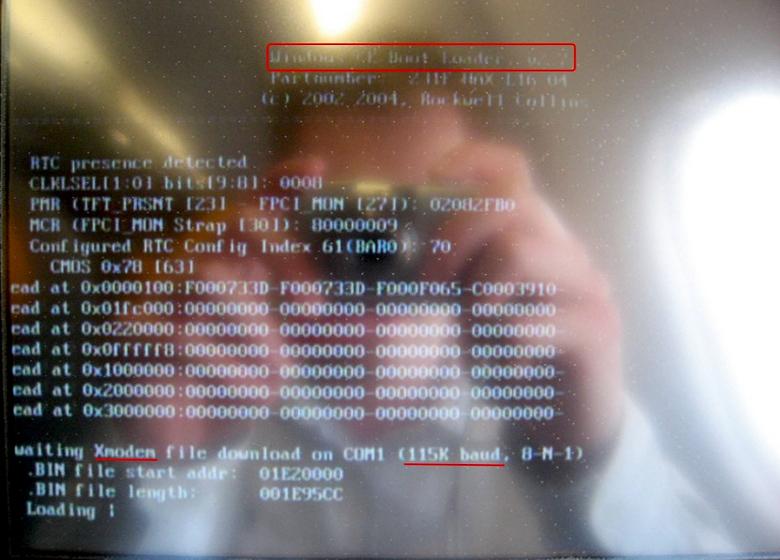 Перезагрузка IFE с Windows CE (фото: lybecker.com).