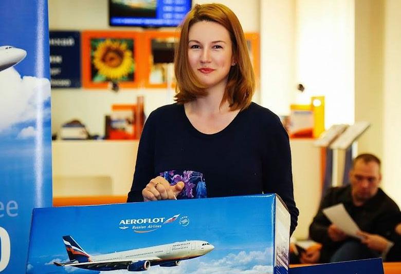 Победительница конкурса Екатерина получила поездку на двоих в Вену (фото: