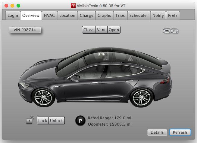 Tesla Motors - редкое исключение среди автопроизводителей. Энтузиасты уже пишут неофициальные приложения, позволяющие дистанционно контролировать основные узлы и процессы в Model S (здесь: скриншот одной из таких программ, VisibleTesla). И им ничего за это не бывает. Пока.