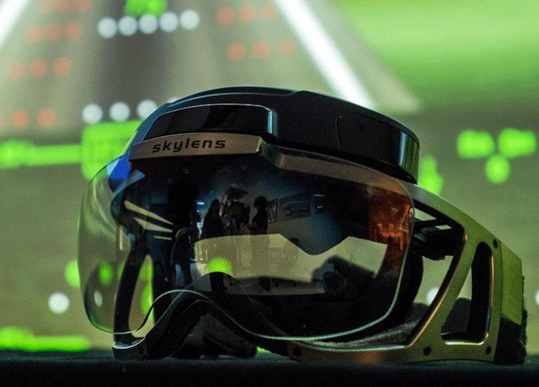 AR-очки для пилотов Skylens (фото: Elbit Systems).