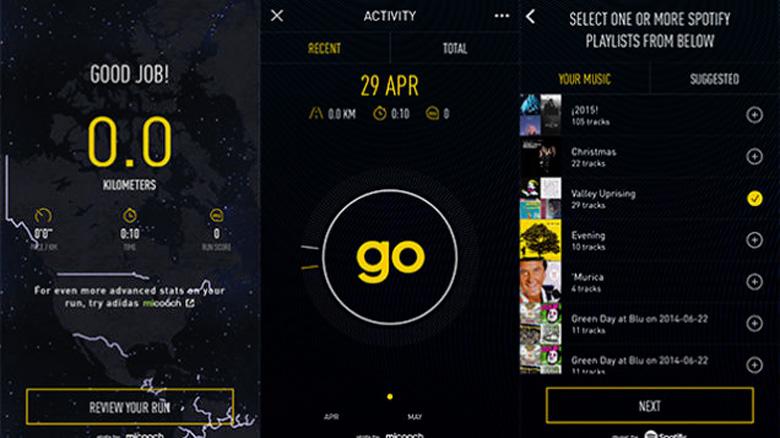 Adidas и Spotify автоматически подберут саундтрек к вашей пробежке