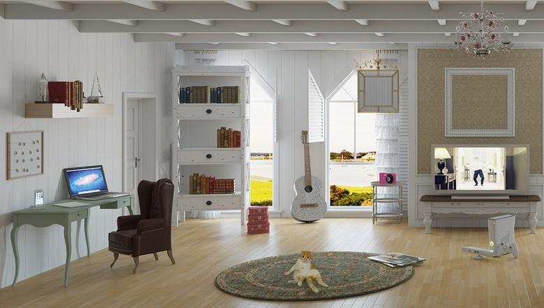 Фрагмент виртуальной комнаты myWebroom