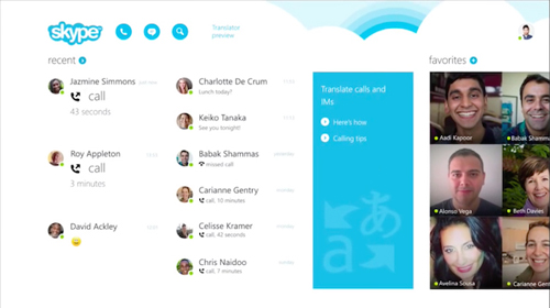Переводчик в Skype научился понимать речь на французском и немецком языках.