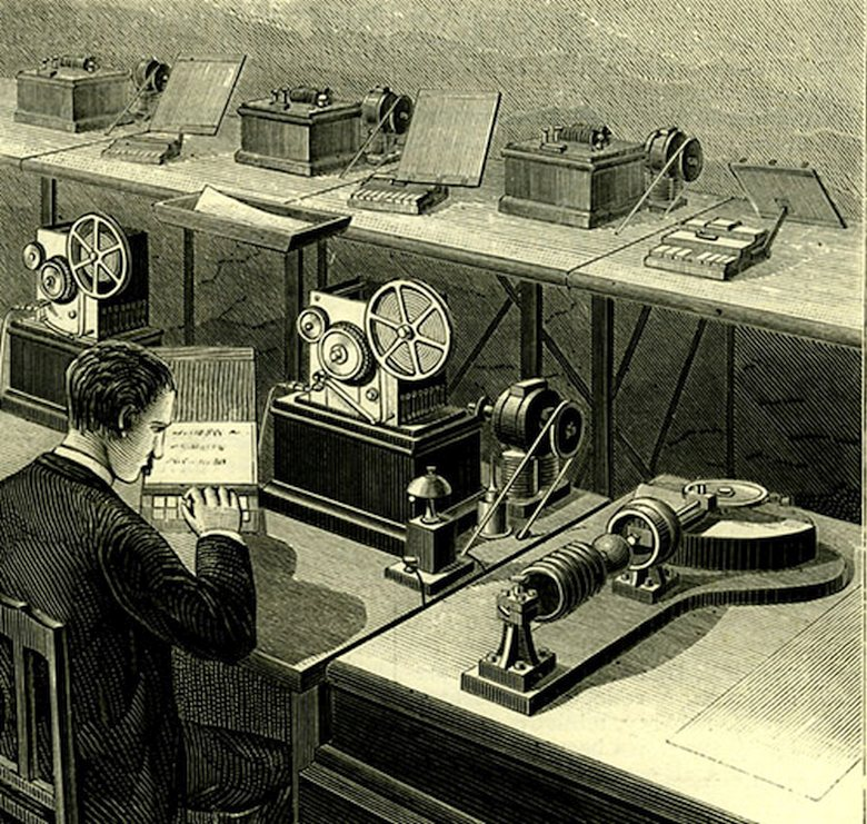 Клавишный телеграф Жана Мориса Эмиля Бодо (фото: Jaime Abecasis RM imageBROKER / f1online.de).