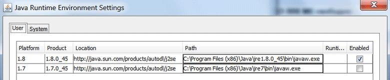 Несколько версий Java в одной ОС.
