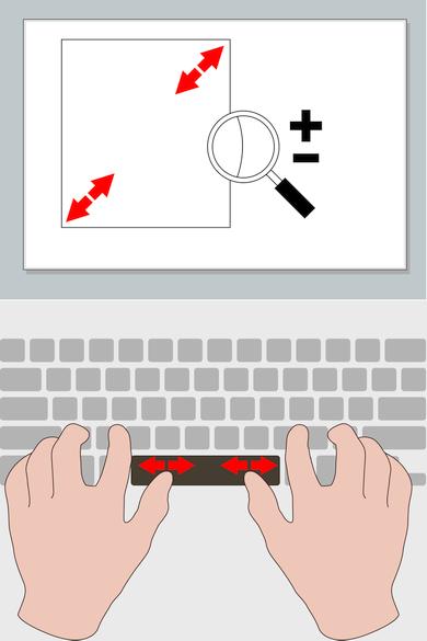SmartBar - масштабирование (изображение: synaptics.com).