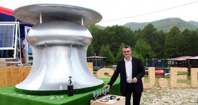 Российский ветрогенератор с повышенным КПД