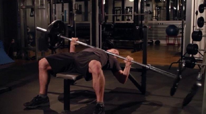 Безопасная скамейка для тренировок со штангой