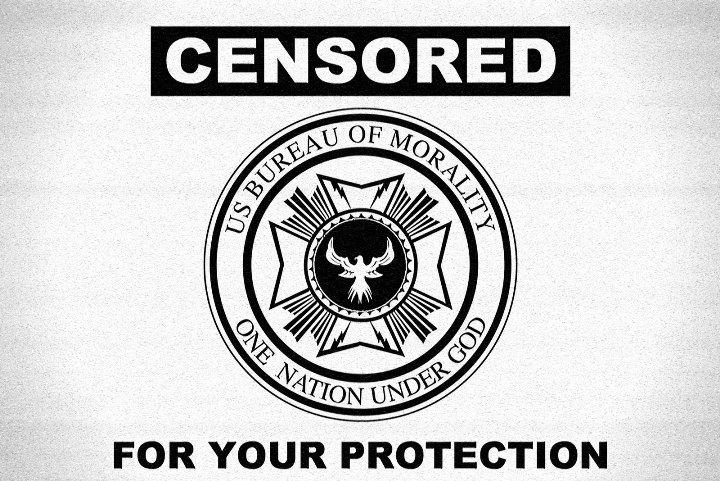 720-Censorship Sign