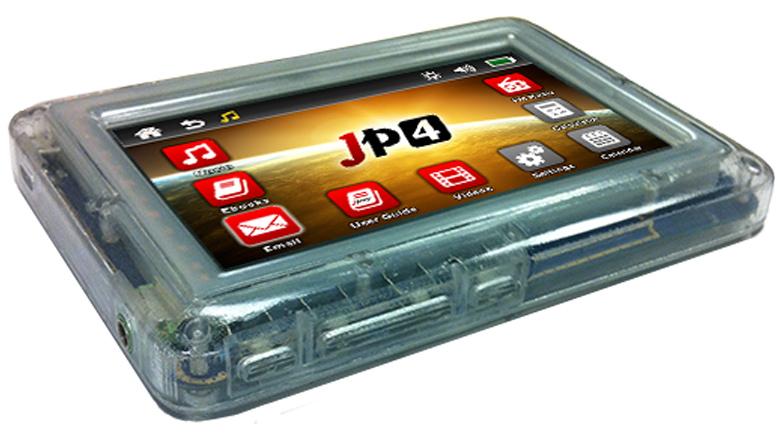 Устаревшая версия JP4 отличается от JP5-mini в основном предустановленным софтом (изображение: jpay.com).