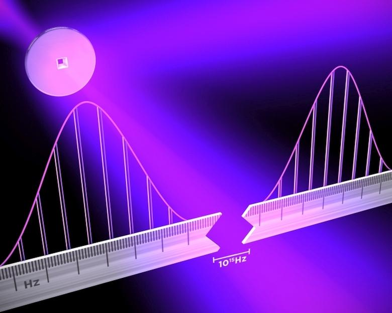 Оптическая частотная гребёнка (изображение: jila.colorado.edu).
