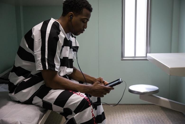 Конкурирующий продукт - планшет Telmate Inmate (фото: prweb.com).
