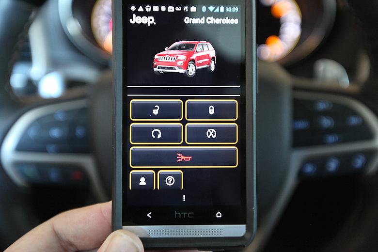 Приложение UConnect предоставляет только часть средств контроля, технически возможных через удалённое подключение (Фото: techhive.com).