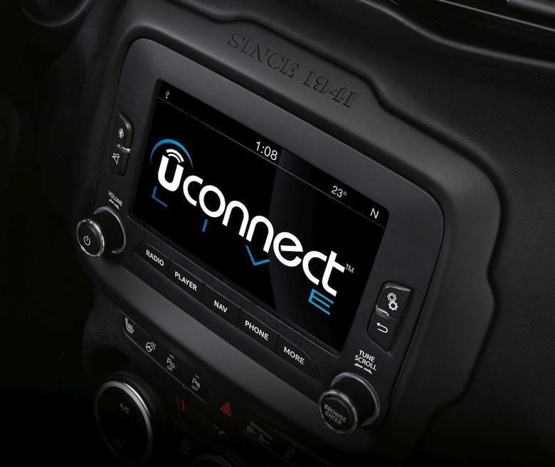 Автомобильная система UConnect (фото: telematicsnews.info).