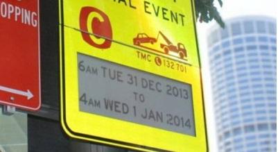 В Сиднее появились дорожные знаки, изготовленные по технологии E-Ink.