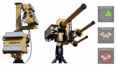 Компания Liteye Systems разработала систему уничтожения дронов AUDS Anti UAV Defense System.