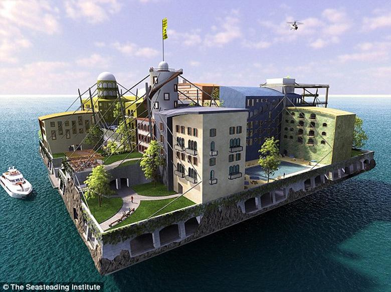 В 2020-м году должен появится первый плавучий город