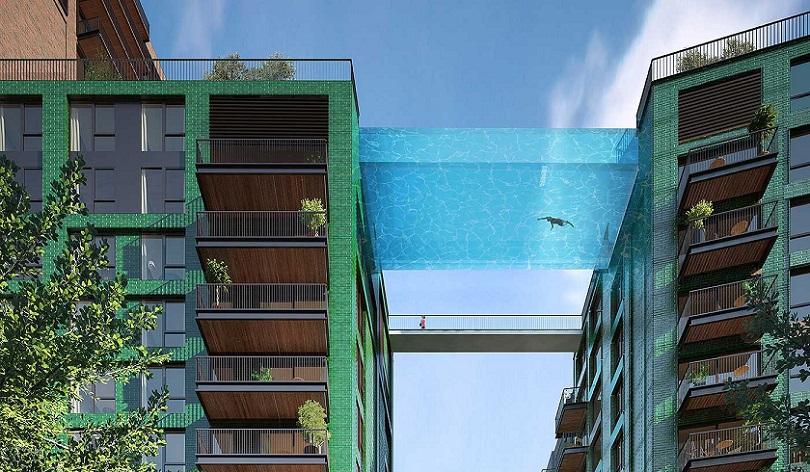 """В Лондоне появится """"воздушный бассейн"""""""