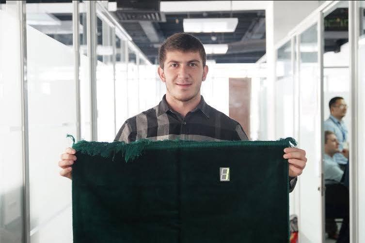"""""""Умный"""" коврик для намаза"""