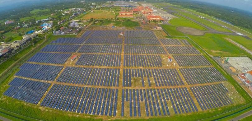 Аэропорт в Индии полностью работает на солнечной энергии