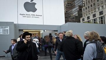 В первом полугодии 2015 года Apple заметно уступила Samsung и Sony