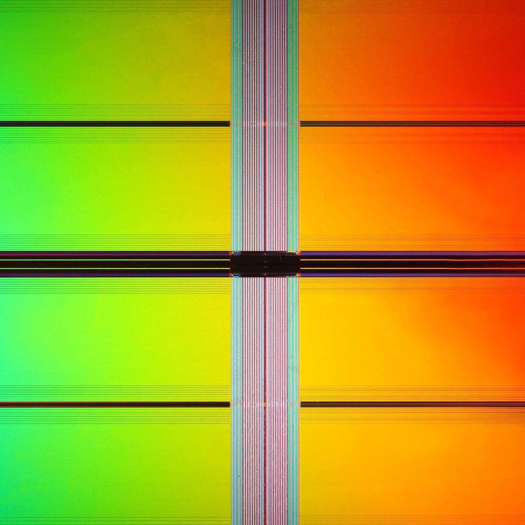 Поле памяти. 34-нанометровая матрица NAND.
