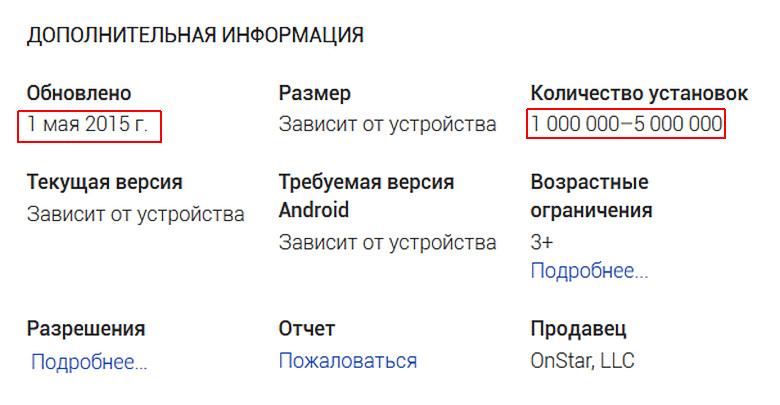 Миллионы уязвимых пользователей по всему миру (скриншот: play.google.com).