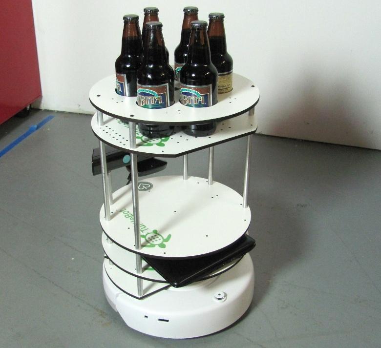 Робот-официант Turtlebot (фото: Ihrchive).