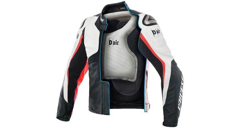 Первая в мире мотоциклетная куртка с автономными подушками безопасности
