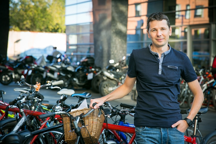Научные данные можно хранить в корзинке и возить на велосипеде...
