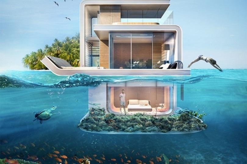 ОАЭ будут строить подводные виллы