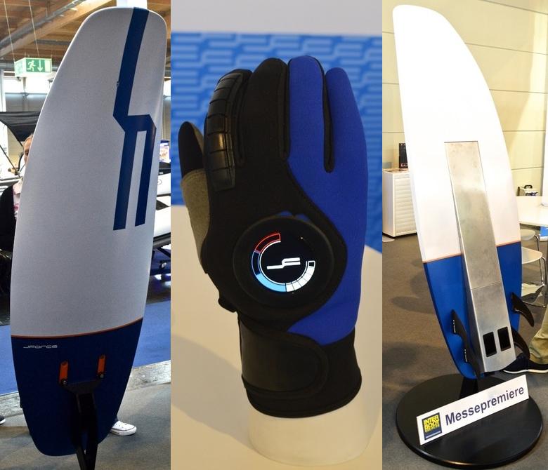 J-Force eBoard и перчатка для беспроводного управления (фото: gizmag.com).