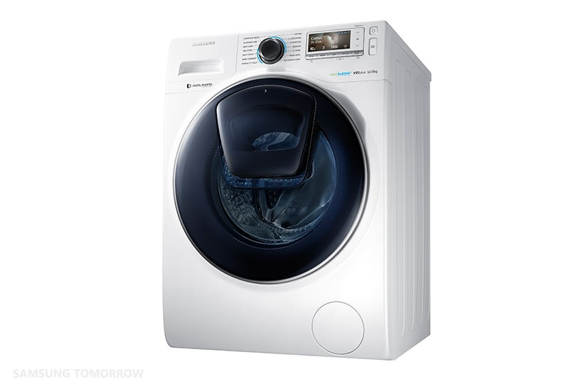 """Samsung представила """"умную"""" стиральную машину для забывчивых пользователей"""