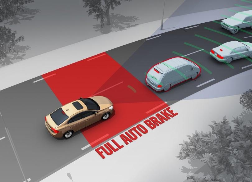 Автоматическая система экстренного торможения автомобиля стала базовой опцией