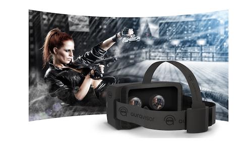 Стартап AuraVisor представил очки виртуальной реальности, которым не нужен дополнительный компьютер.