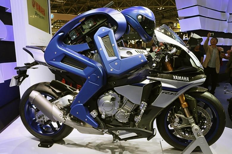 Мотобот (фото: Yamaha).