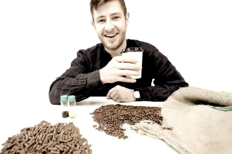 Британский проект по вторичному использованию кофейной гущи