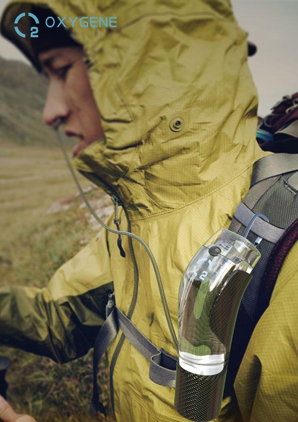 Добыча кислорода из воды для альпинистов
