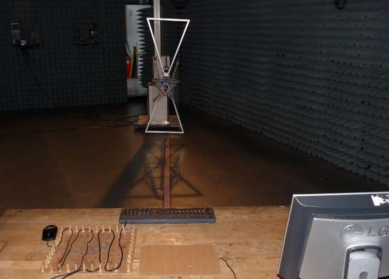 Лаборатория FCC. Испытательная установка для проверки электромагнитной совместимости.