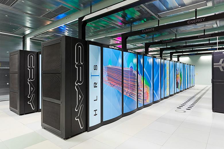 Суперкомпьютер Hazel-Hen (фото: gauss-centre.eu).