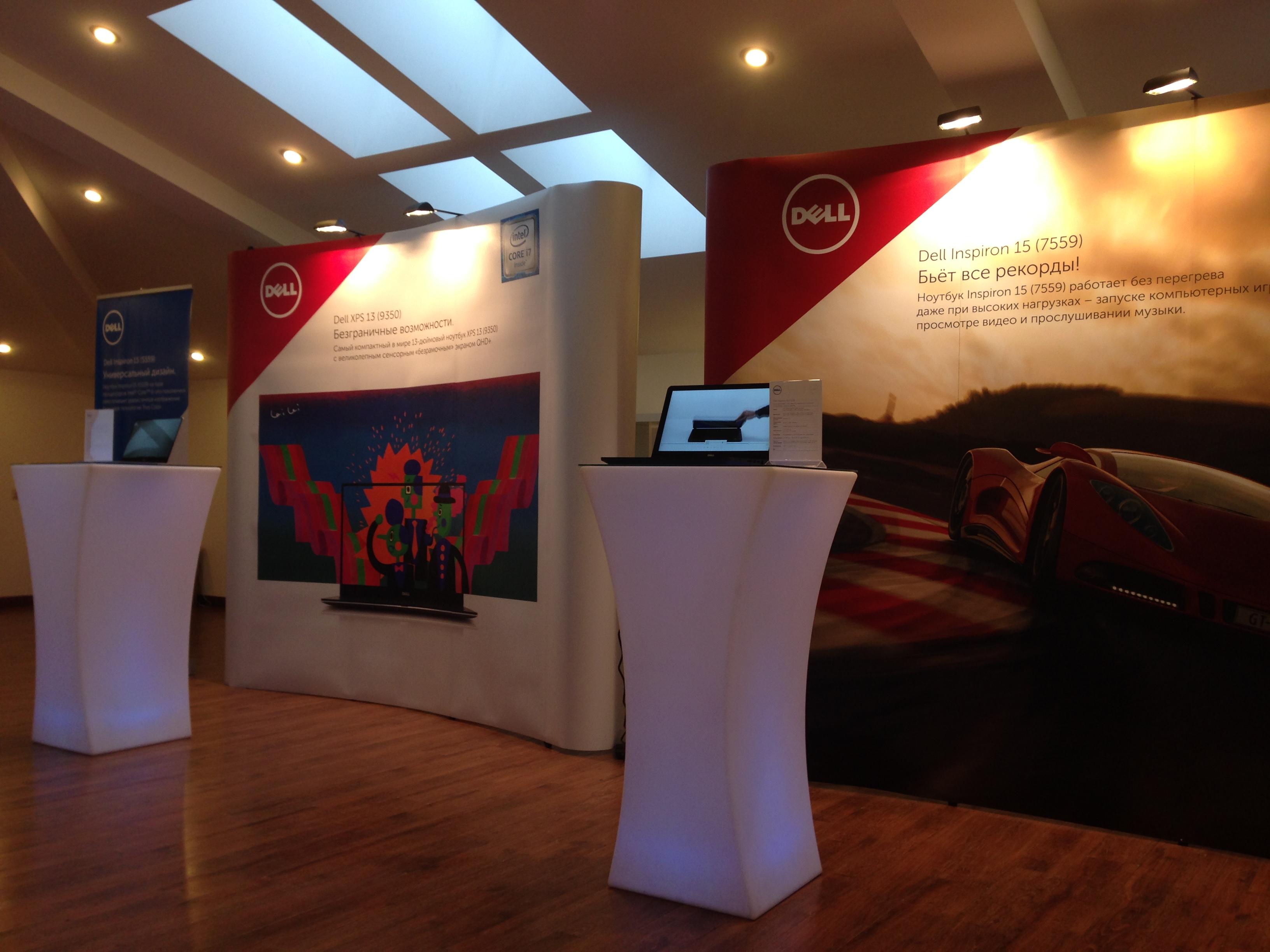 Презентация новых компьютеров Dell Inspiron и XPS на российском рынке